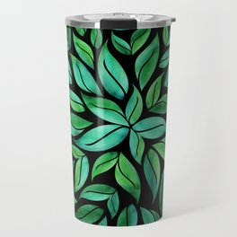 Night Leaves Travel Mug