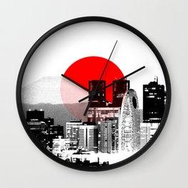 Modern Japan - Tokyo - Shinjuku Wall Clock