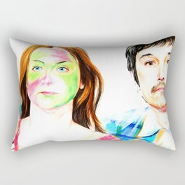 You&I with subtitles Rectangular Pillow