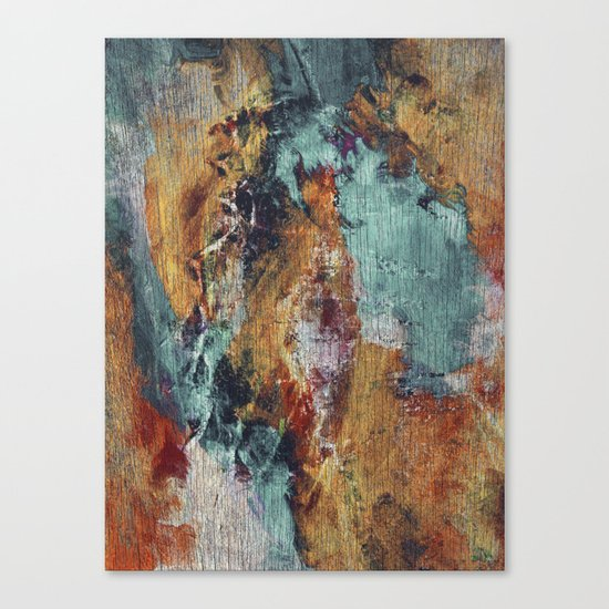The Devil, the Angel and the Redemption Canvas Print