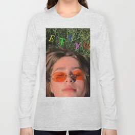 Clairo pretty girl album Long Sleeve T-shirt