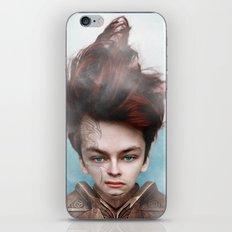 guerriero sayan iPhone & iPod Skin