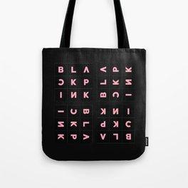 Blackpink Square Up BLACK V2 Tote Bag
