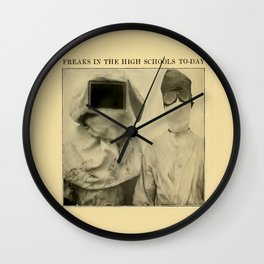 Freaks in the High Schools To-Day Wall Clock