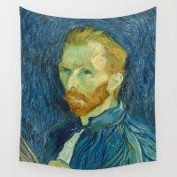 van gogh Wall Tapestries featuring Van Gogh by Palazzo Art Gallery