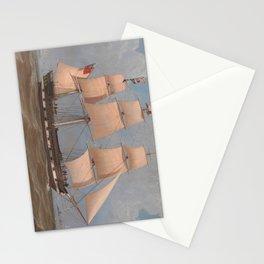 The English Merchant Ship Malabar - William Clark  Stationery Cards