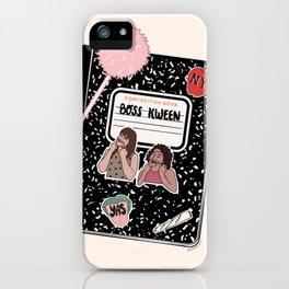 BOSS KWEEN iPhone Case