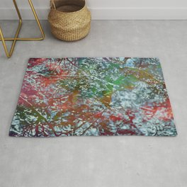 Green Frost Rug