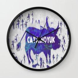 Ancient Catalhoyuk Wall Clock