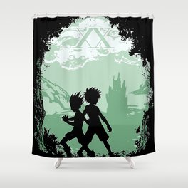 Hunter x Hunter Shower Curtain