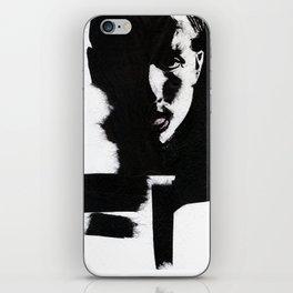 Man in black iPhone Skin