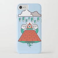 illuminati iPhone & iPod Cases featuring Illuminati by Tshirtbaba