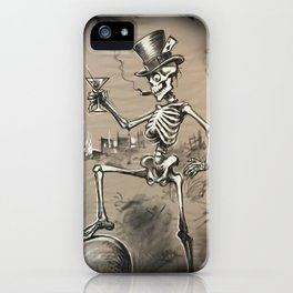 Mr Lucky iPhone Case