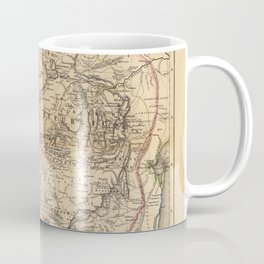 Map Of South Africa 1875 Coffee Mug