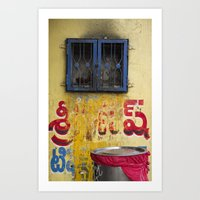 india Art Prints featuring India by Kate Denman