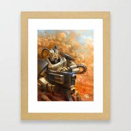 Heavy Artillery Framed Art Print