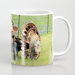 Old Tractor & Bluebonnets Coffee Mug