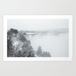 Black & White (1 of 7) Art Print