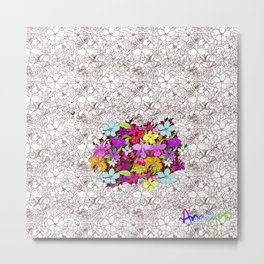 renacimiento de color Metal Print