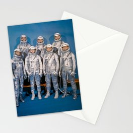 The First Astronauts Stationery Cards