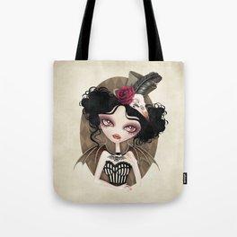 Countess Nocturne Vampire Tote Bag