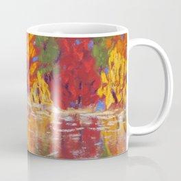 Autumn Fire, Still Water Coffee Mug