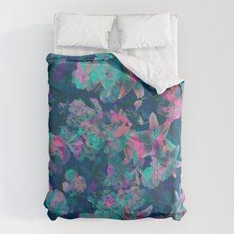 Geometric Floral Comforters