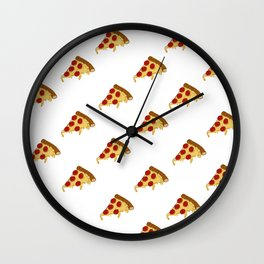 Pizza time Wall Clock