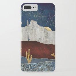 Moonlit Desert iPhone Case