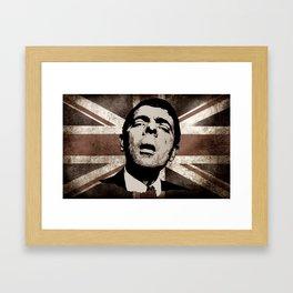 UK BEAN Framed Art Print