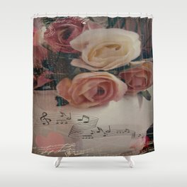 Roses & Music ... Shower Curtain