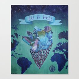 All is Well Canvas Print