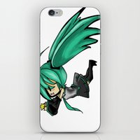 vocaloid iPhone & iPod Skins featuring Vocaloid by Niky Boo