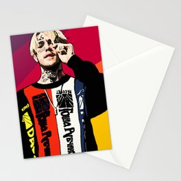 Lil Peep Stationery Cards