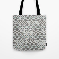 cool boardwalk ikat Tote Bag