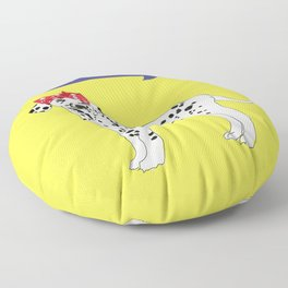 Political Pup - When We All Vote Dalmatian Dog Floor Pillow
