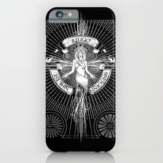 Religio Sine Scienta Nihil Est iPhone & iPod Case