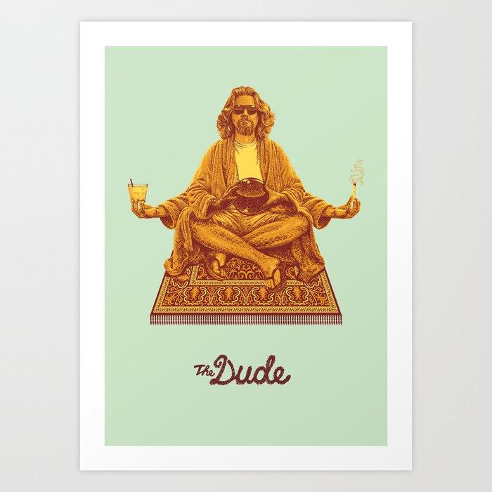 The Lebowski Series: The Dude Art Print