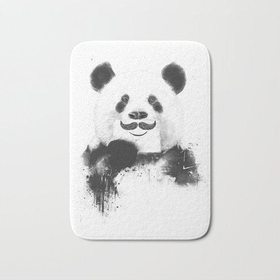 Funny panda Bath Mat