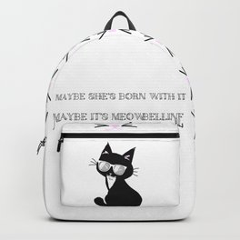 Maybe It's Meowbelline Backpack