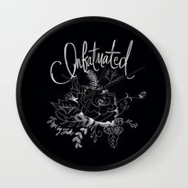 Infatuated Wall Clock