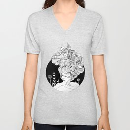 Travelling - Mulled Time Unisex V-Neck