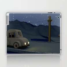 Two cars racing for the prize Laptop & iPad Skin