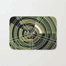 Exploded view camouflage Bath Mat