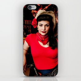 Cowgirl iPhone Skin