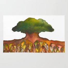 Deep Roots of Mama Tree Rug