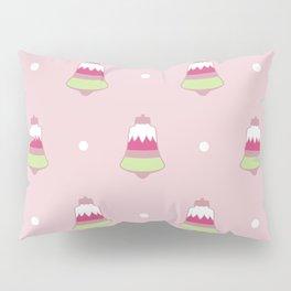 Strawberry Holiday Bells Pillow Sham