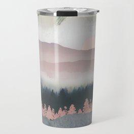 Forest Lake Evening Travel Mug