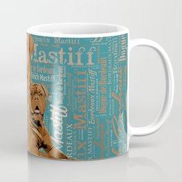 Dogue de Bordeaux Digital Art Coffee Mug