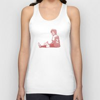 louis Tank Tops featuring Footie Louis by pygmy